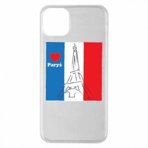 Etui na iPhone 11 Pro Max Kocham Paryż