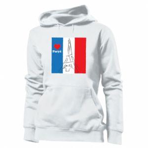 Damska bluza Kocham Paryż