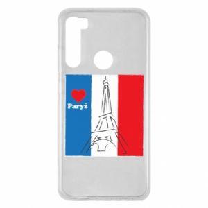 Etui na Xiaomi Redmi Note 8 Kocham Paryż