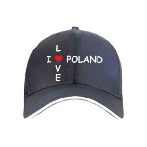 Czapka I love Poland crossword