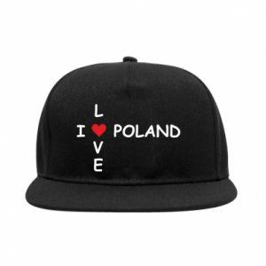 Snapback Kocham Polskę - PrintSalon