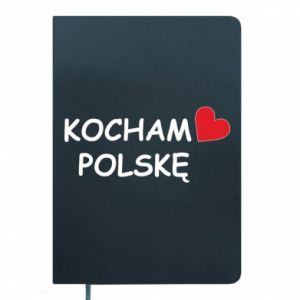 Notepad I love Poland - PrintSalon