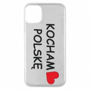 iPhone 11 Pro Case I love Poland
