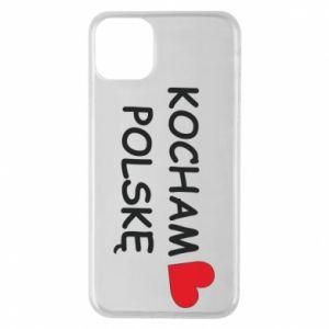 iPhone 11 Pro Max Case I love Poland