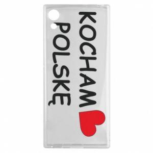 Sony Xperia XA1 Case I love Poland