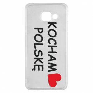 Samsung A3 2016 Case I love Poland
