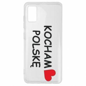 Samsung A41 Case I love Poland