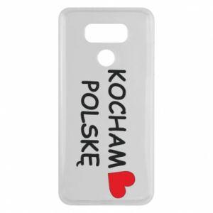 LG G6 Case I love Poland