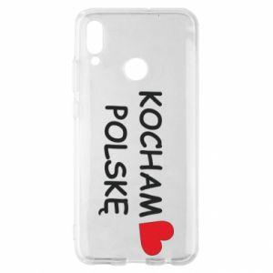 Huawei P Smart 2019 Case I love Poland