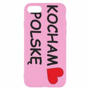 iPhone SE 2020 Case I love Poland
