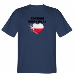 Koszulka męska Kocham swój kraj