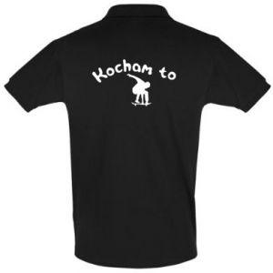 Koszulka Polo Kocham to - PrintSalon