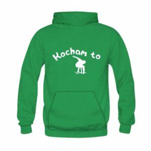 Kid's hoodie I love it