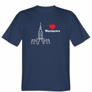 T-shirt Warsaw I love you