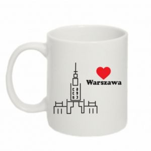 Mug 330ml Warsaw I love you