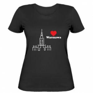 Women's t-shirt Warsaw I love you