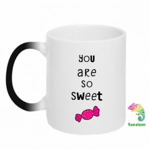 Chameleon mugs You are so sweet - PrintSalon