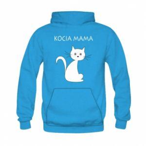 Kid's hoodie Cats mother