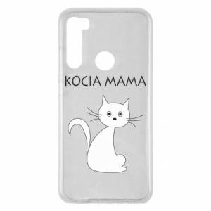 Xiaomi Redmi Note 8 Case Cats mother