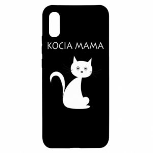 Etui na Xiaomi Redmi 9a Kocia mama