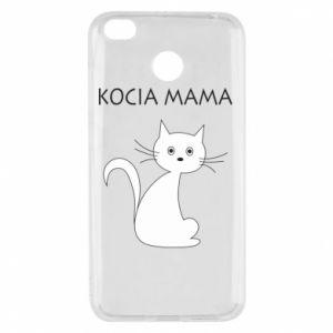 Xiaomi Redmi 4X Case Cats mother