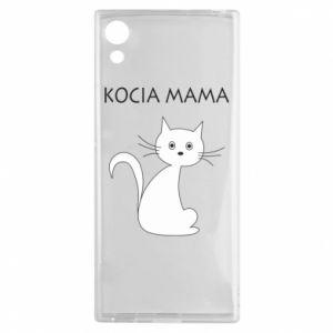 Sony Xperia XA1 Case Cats mother