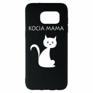 Samsung S7 EDGE Case Cats mother