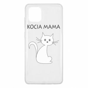 Samsung Note 10 Lite Case Cats mother