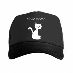 Trucker hat Cats mother