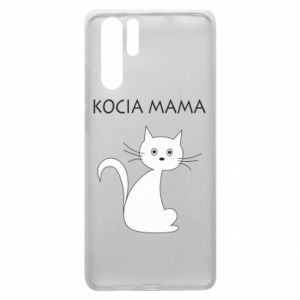 Huawei P30 Pro Case Cats mother