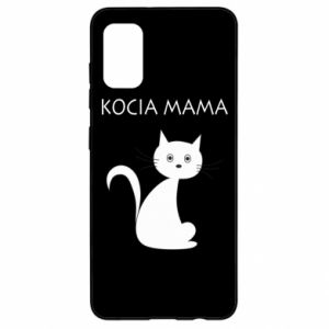 Samsung A41 Case Cats mother