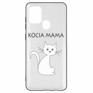 Samsung A21s Case Cats mother