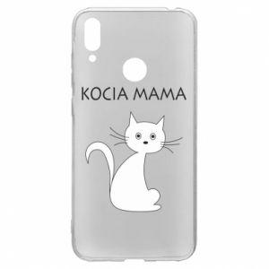 Etui na Huawei Y7 2019 Kocia mama