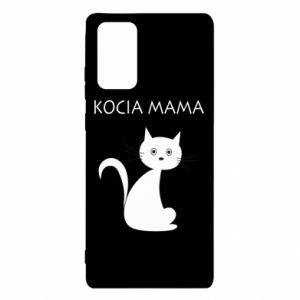 Etui na Samsung Note 20 Kocia mama