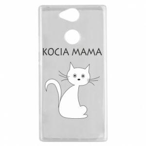 Etui na Sony Xperia XA2 Kocia mama