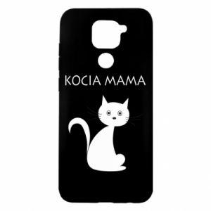 Etui na Xiaomi Redmi Note 9/Redmi 10X Kocia mama
