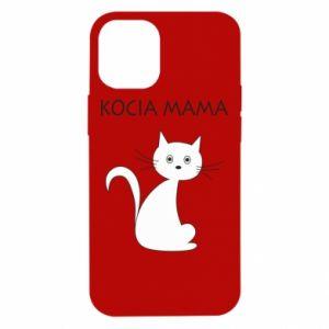 Etui na iPhone 12 Mini Kocia mama