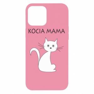 Etui na iPhone 12 Pro Max Kocia mama