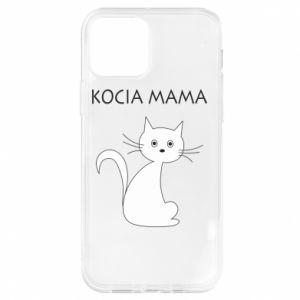 Etui na iPhone 12/12 Pro Kocia mama