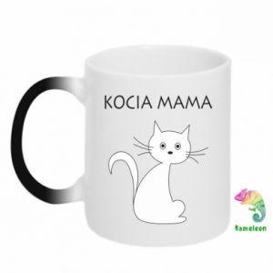 Kubek-kameleon Kocia mama