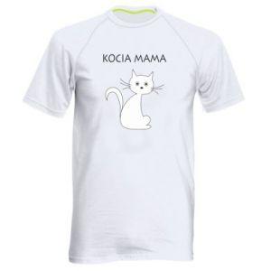 Men's sports t-shirt Cats mother