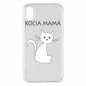iPhone X/Xs Case Cats mother