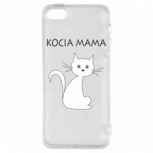 iPhone 5/5S/SE Case Cats mother