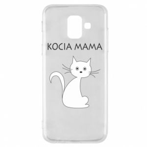 Samsung A6 2018 Case Cats mother