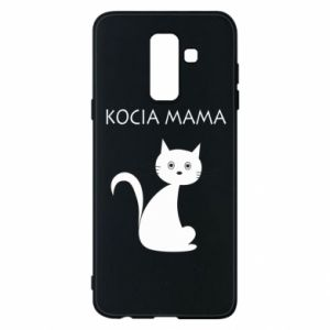 Samsung A6+ 2018 Case Cats mother
