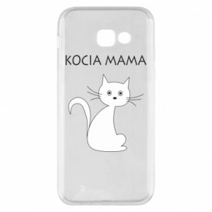 Samsung A5 2017 Case Cats mother