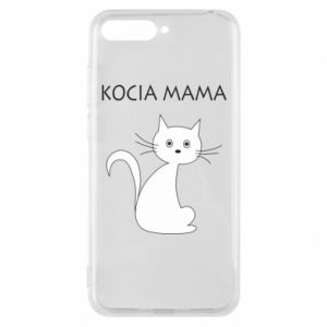 Huawei Y6 2018 Case Cats mother
