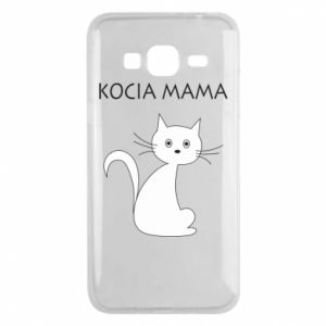 Samsung J3 2016 Case Cats mother