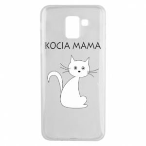 Samsung J6 Case Cats mother
