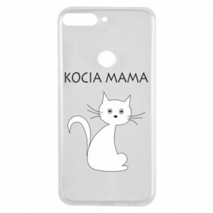 Huawei Y7 Prime 2018 Case Cats mother